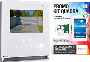 Promo Kit Quadra Icona Videocitofono art 8461L