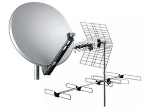 Antenne digitale terrestre e satellitare